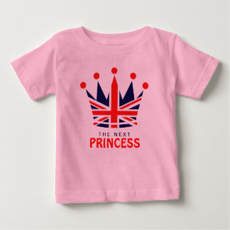 British Princess Crown Baby T-Shirt