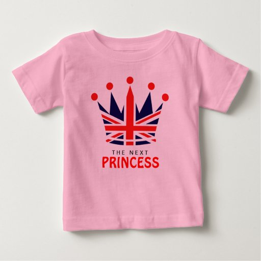 British Princess Crown T Shirt