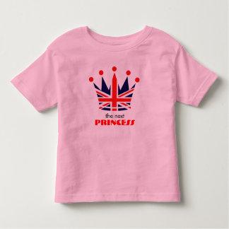 British Princess Crown Toddler T-shirt