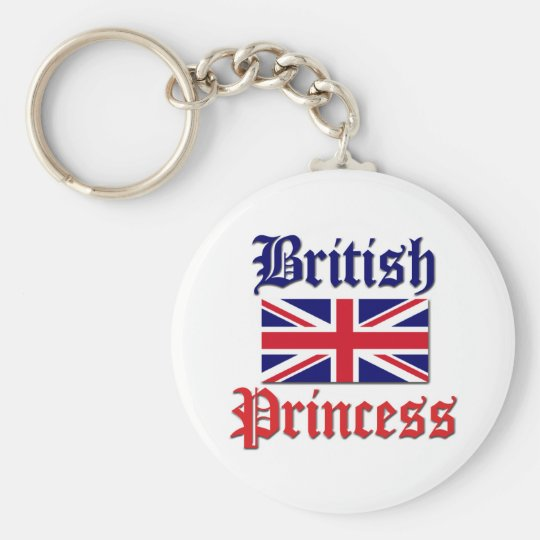 British Princess Keychain