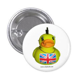 British Punk Rubber Duck Pin