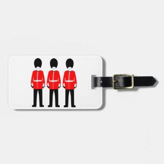 British Queen's Guard Bag Tag