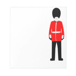British Queen's Guard Notepad