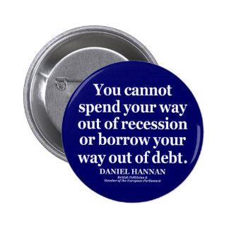 British Quotations Pinback Button