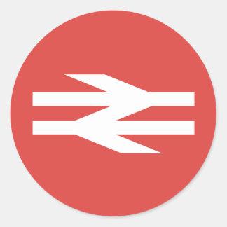 British Rail Vintage Logo Classic Round Sticker