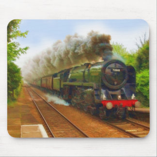 British Railway Steam Train Art IV Mouse Pad