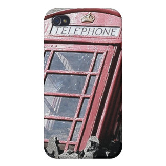 British Red Phone Box Covers For iPhone 4