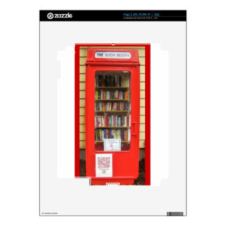 british red phone box library skins for iPad 2