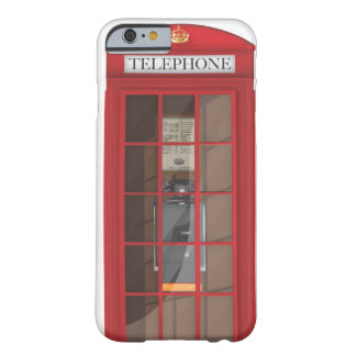 British Red Public call box Barely There iPhone 6 Case