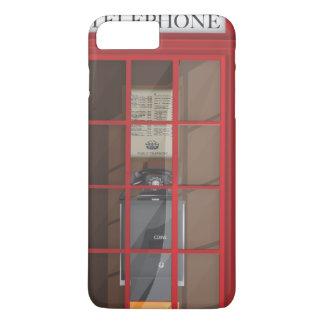 British Red Public call box iPhone 7 Plus Case