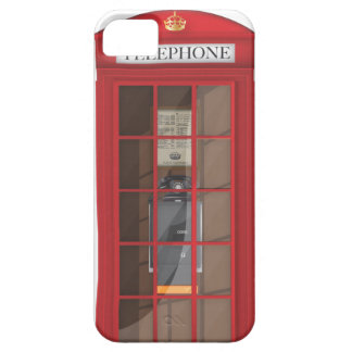 British Red Public call box iPhone SE/5/5s Case