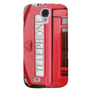 British Red Tele Box Samsung Galaxy S4 Covers