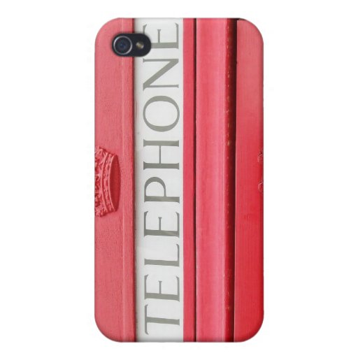 British Red Tele Box iPhone 4/4S Covers