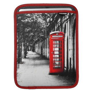 British Red Telephone Box from London Sleeve For iPads