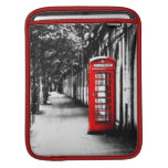 British Red Telephone Box from London Sleeves For iPads