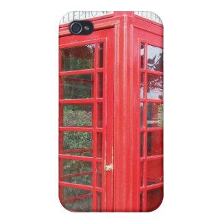 British Red Telephone Box iPhone 4 Case