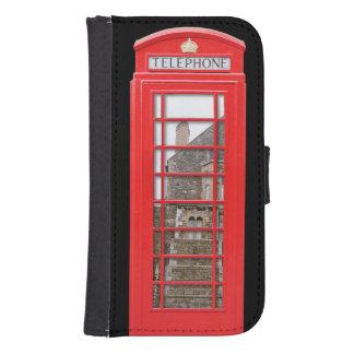 British Red Telephone Box Phone Wallets