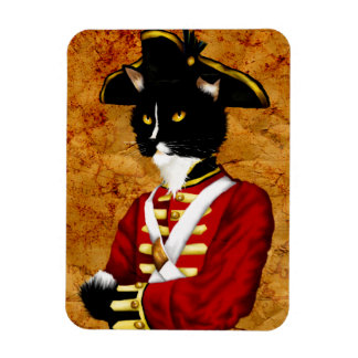 British Redcoat Cat Soldier Magnet