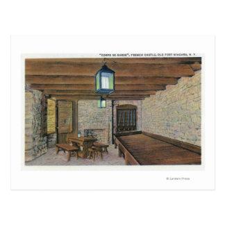 British Redoubt, French Barracks, Powder Magazin Postcard