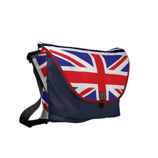 British Rickshaw Messenger Bag