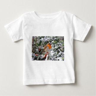 British robin redbreast tee shirt