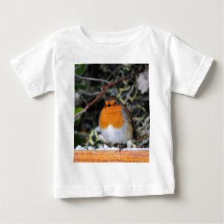 British robin redbreast tshirt