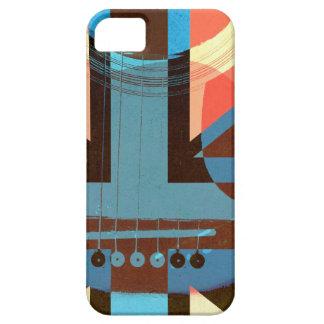 british rock acoustic guitar collage iPhone SE/5/5s case