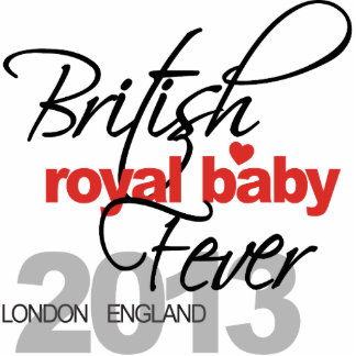 British Royal Baby Fever - Prince George Cutout