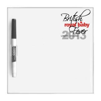 British Royal Baby Fever - Prince George Dry Erase Board