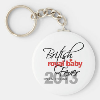British Royal Baby Fever - Prince George Key Chains