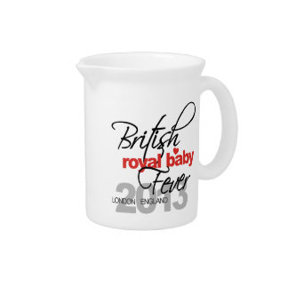British Royal Baby Fever - Prince George Pitcher