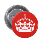 British Royal Crown Buttons