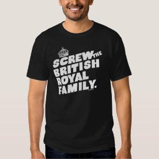 BRITISH ROYAL FAMILY T SHIRT
