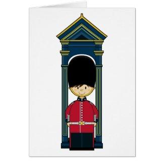 British Royal Guard Card card