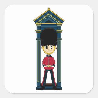 British Royal Guard Sticker