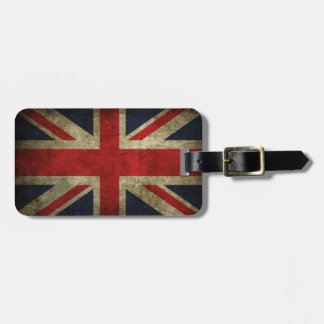 British Royal Union Jack Antique Flag Luggage Tags