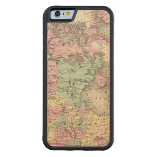 British, Russian & Danish Possessions Carved Maple iPhone 6 Bumper Case