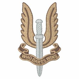 British SAS Embroidered Polo Shirt