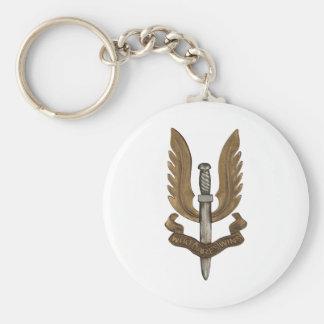 British SAS Keychain