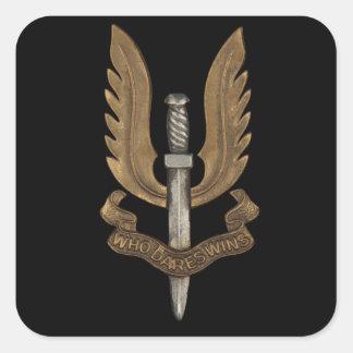 British SAS Square Sticker