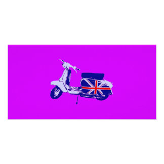 British scooter card