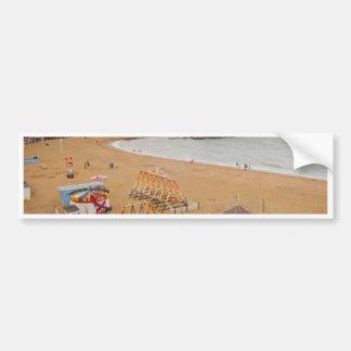 British Seaside Bumper Sticker