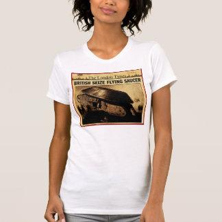 British Seize Flying Saucer Shirt