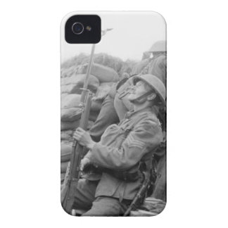 British Sergeant with Trench Periscope Case Case-Mate iPhone 4 Case