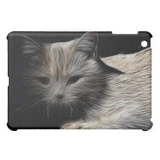 British Shorthair Cat Fractal iPad Cover