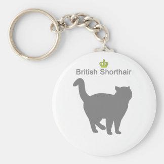 British Shorthair g5 Keychain