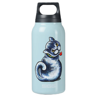British Shorthair Little Charmer Insulated Water Bottle