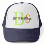 British Shorthair Monogram Trucker Hat