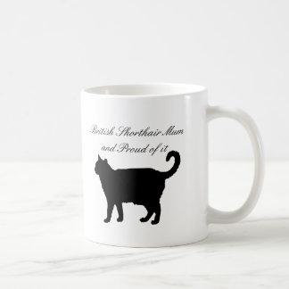 British Shorthair Mum Coffee Mug