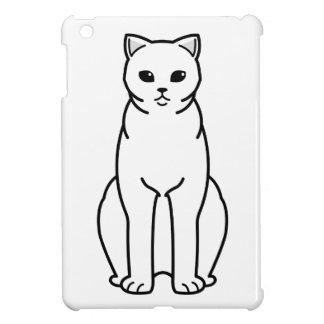 British Shorthair Self Cat Cartoon Cover For The iPad Mini
